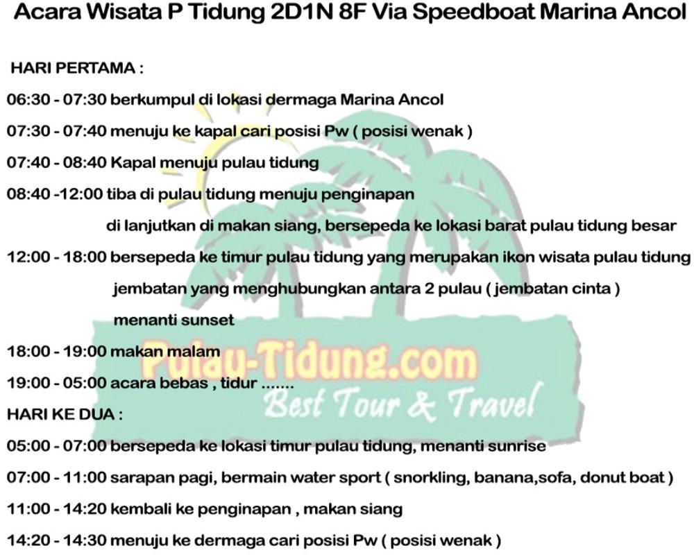 Harga Dan Spesifikasi Paket Liburan 1 Termurah 2018 Dieng 2 Hari Malam Pulau Tidung Tour Wisata Acara P Hemat Via